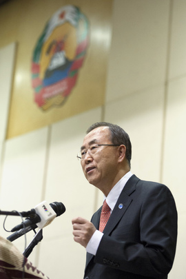 Secretary-General Addresses Roundtable on MDGs and Post-2015 Development Agenda