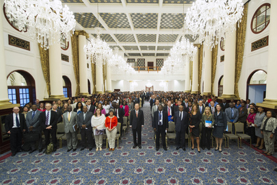 Secretary-General Holds Town Hall Meeting with UN Staff in Maputo