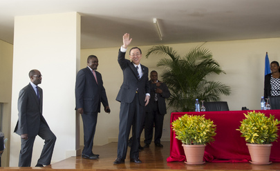 Secretary-General Speaks at International Relations Institute in Maputo