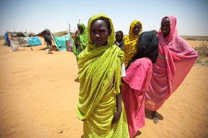 UN Humanitarian Chief Visits Darfur