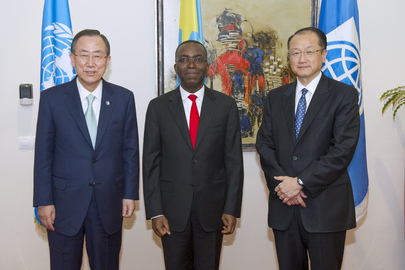 UN and World Bank Heads Meet Prime Minister of Democratic Republic of Congo