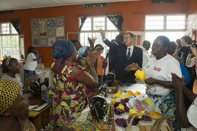 Secretary-General Visits Heal Africa in DRC