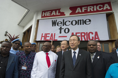 Secretary-General and World Bank President Visit Victims of Sexual Violence
