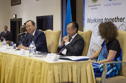 Secretary-General and World Bank President Hold Town Hall Meeting With Staff