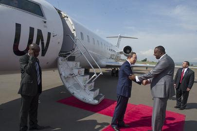 Secretary-General Departs Rwanda for Uganda