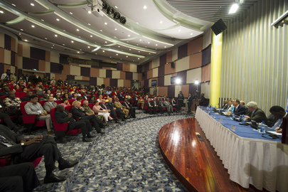 Secretary-General Holds Town Hall Meeting With UN Staff in DRC