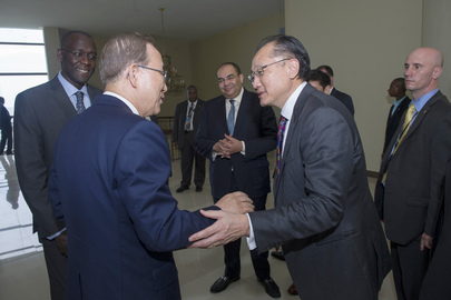 Secretary-General and World Bank President Conclude Joint Mission to Africa