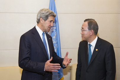 Secretary-General Meets U.S. Secretary of State