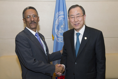 Secretary-General Meets with Mauritanian Foreign Minister