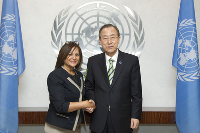 Secretary-General Swears in Chief Information Technology Officer, Assistant-Secretary-General