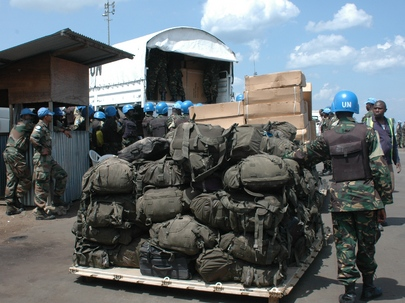 Force Intervention Brigade Troops Arrive in Goma, DRC
