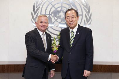 Secretary-General Meets Administration Chief of ESCAP