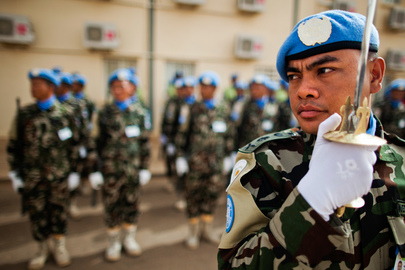 UNAMID Observes Peacekeepers Day