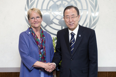 Secretary-General Meets Head of UNITAR