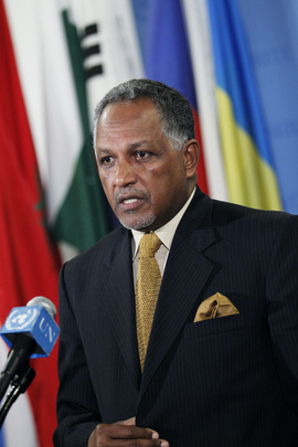 Permanent Representative of Sudan Briefs Press