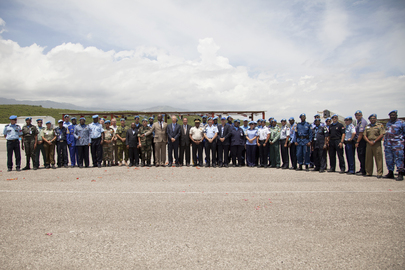MINUSTAH Observes Peacekeepers Day