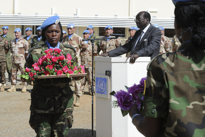 UNMISS Observes Peacekeepers Day