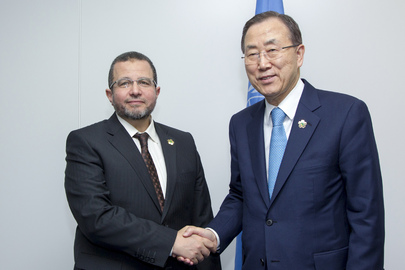Secretary-General Meets Prime Minister of Egypt