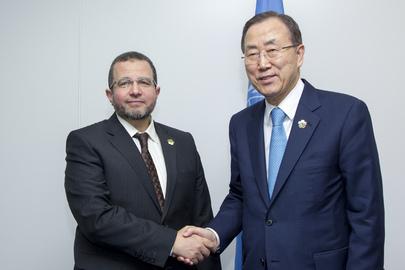 Secretary-General Meets Prime Minister of Egypt