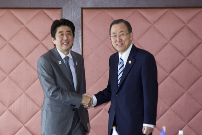 Secretary-General Meets Prime Minister of Japan