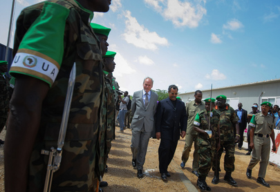 New UN Envoy Arrives in Mogadishu