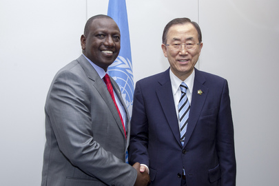 Secretary-General Meets Deputy President of Kenya