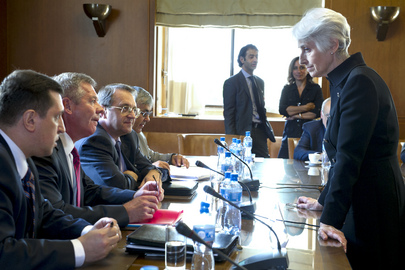 UN, Russia and US Hold Talks on Syria in Geneva