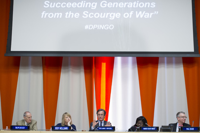 "Panel Discussion: ""Determined to Save Succeeding Generations from Scourge of War"""
