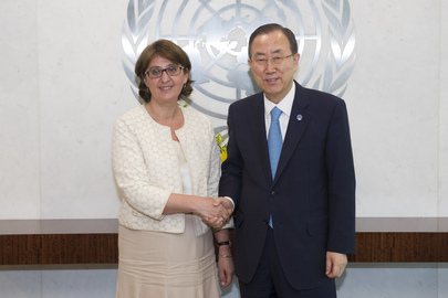 Secretary-General Meets Foreign Minister of Georgia