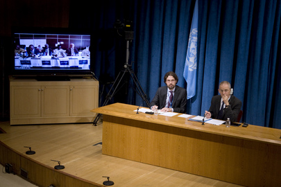 Press Conference on World Heritage Sites Damaged in Mali Conflict