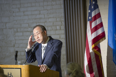 Secretary-General Addresses Denver Forum