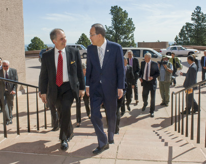 Secretary-General Visits National Centre for Atmospheric Research in Boulder, Colorado