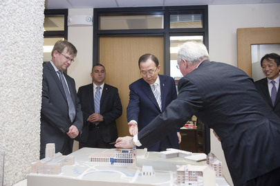 Secretary-General Visits Josef Korbel School of International Studies at Denver