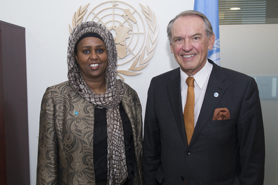 Deputy Secretary-General Meets Foreign Minister of Somalia