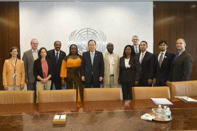 Secretary-General Meets UN Plus