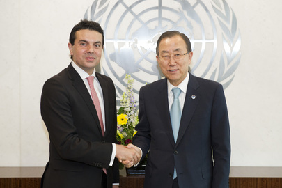 Secretary-General Meets Foreign Minister of Former Yugoslav Republic of Macedonia