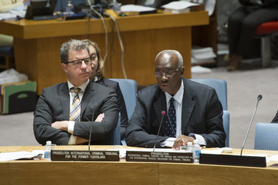 Security Council Considers Reports on Rwanda and Yugoslavia War Crime Tribunals
