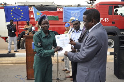 Aviation Security Graduation, SSNPS for Diplomatic Protection