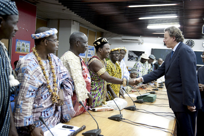 UNOCI Head Meets with Ivorian Leaders
