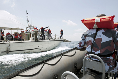Maritime Police Exercises in Côte d'Ivoire