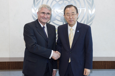 Secretary-General Meets Deputy Foreign Minister of Czech Republic