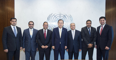 Secretary-General Meets Permanent Representatives of Iraq and Kuwait