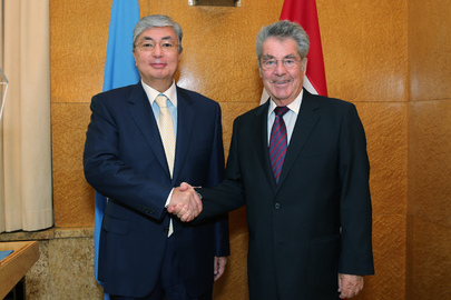 Head of UNOG Meets President of Austria
