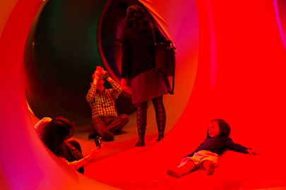 """Luminarium"" Sculpture on Human Rights"