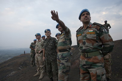 New Force Commander of MONUSCO Visits Goma