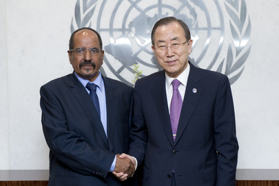 Secretary-General Meets Head of Frente Polisario