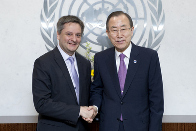 Secretary-General Meets Foreign Minister of Andorra