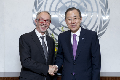Secretary-General Meets Foreign Minister of Monaco