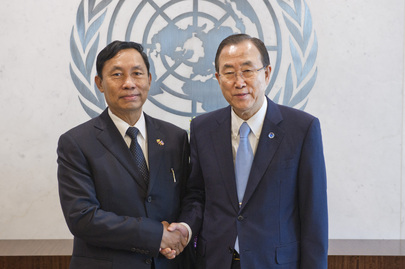 Secretary-General Meets Speaker of Lower House of Myanmar Parliament
