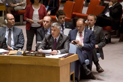 Security Council Discusses Kosovo